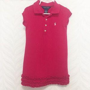 Ralph Lauren Dress Pink 4T